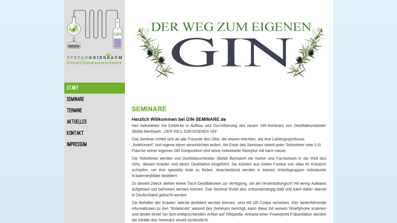 Gin-Seminare