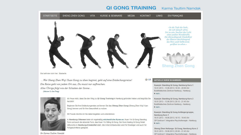 Qigong Training - Startseite