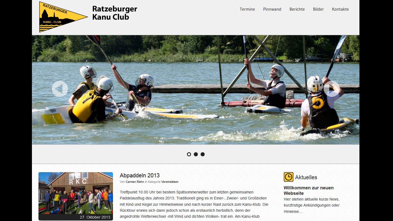 Ratzeburger Kanu Club - Startseite